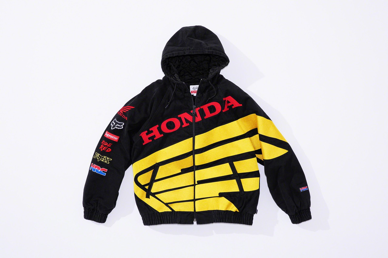 Supreme Joins Forces with Honda & Fox Racing In Fall 2019 Collection