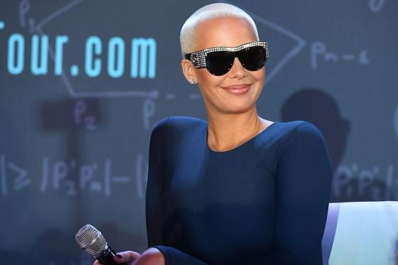 Amber Rose claims Kobe Bryant's Tragic Death Inspired Forehead Tattoo
