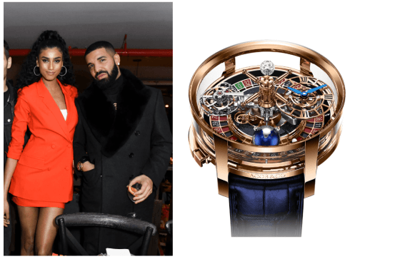 Drake's Latest Watch Has a Fully Working Roulette Wheel