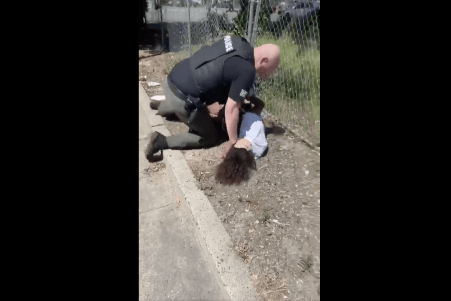 Video Shows California Officer Beating Teen Accused of Smoking Marijuana
