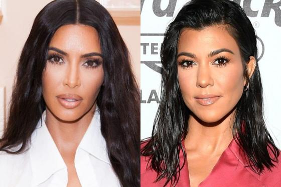 Kourtney Kardashian Slaps Kim Across the Face after Kim Charges at Her