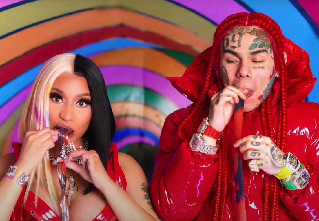Watch 6ix9ine & Nicki Minaj 'Trollz' Music Video