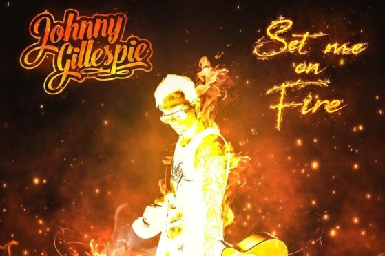 "Johnny Gillespie Finds Peace Within the Flames with ""Set Me On Fire"""