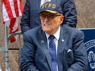 Rudy Giuliani Claims That Media and Black People are the Enemy