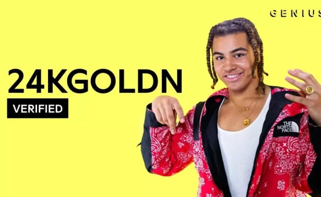 24kgoldn Valentino Official Lyrics Meaning Verified