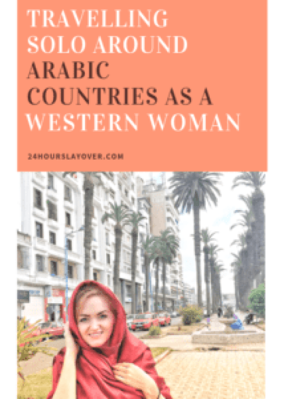 travelling solo around arabic countries as a western woman Middle East