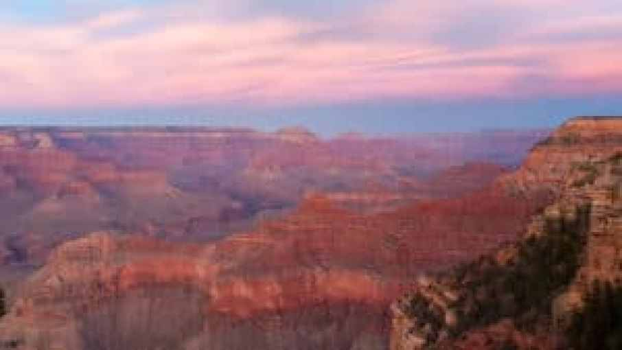 sunset grand canyon landscape