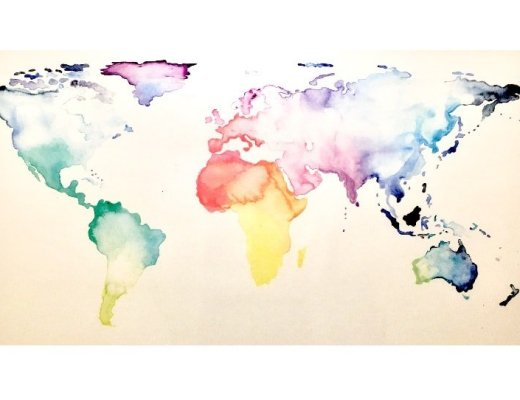 24 hours layover world map
