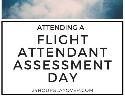 flight attendant assessment day
