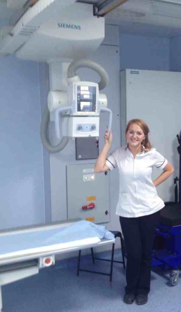 why I quit nursing X-ray radiographer
