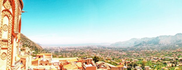 monreale view from viewpoint Sicily