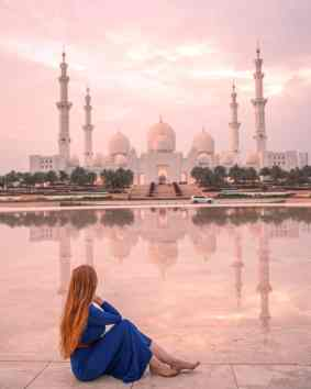 sheikh Zayed grand mosque abu Dhabi instagrammable places