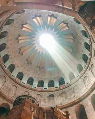 church of the holy sepulchre Jerusalem Via Dolorosa