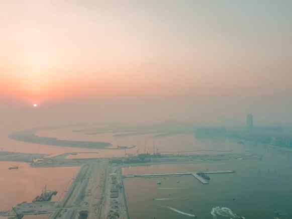 view from at the top hostel dubai