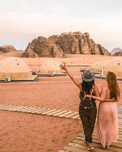 instagrammable places in Jordan wadi rum sun city desert camp