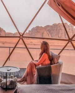 instagrammable places in Jordan wadi rum sun city desert camp