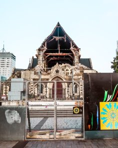 Christchurch cathedral post 2011 earthquake damage