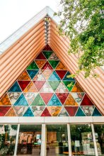 cardboard cathedral Christchurch