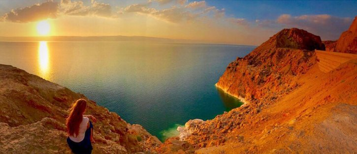The Dead Sea photography in Jordan