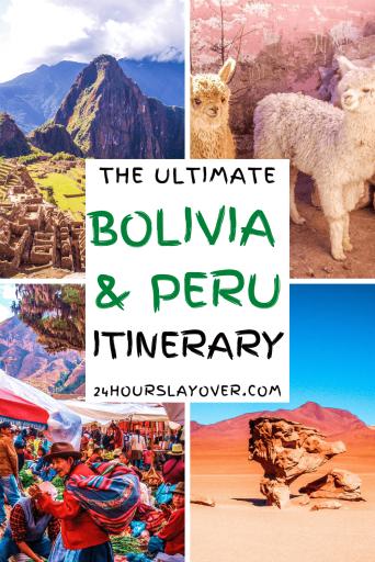 Bolivia peru itinerary