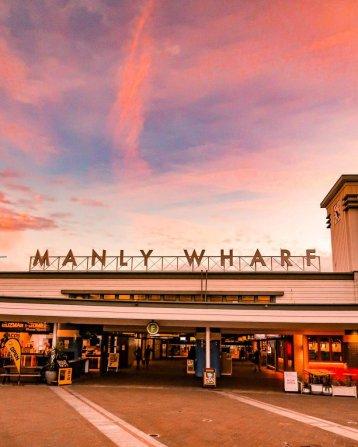 manly wharf Sydney