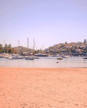Clontarf beach Sydney middle harbour