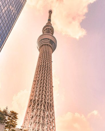 tokyo skytree 24 hours instagrammable places