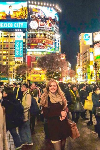 Shibuya crossing 24 hours tokyo instagrammable places