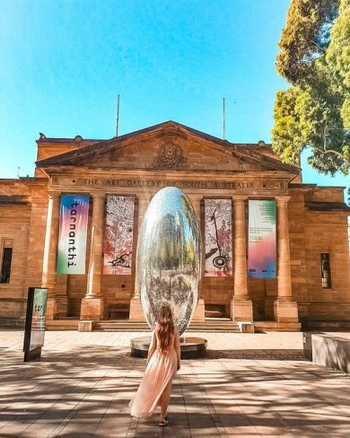 Adelaide photography locations art gallery