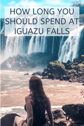 how long should you spend at iguana falls?