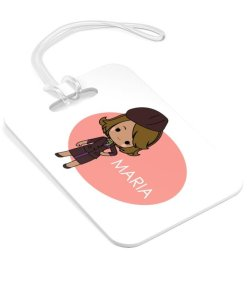 flight attendant personalised luggage tag