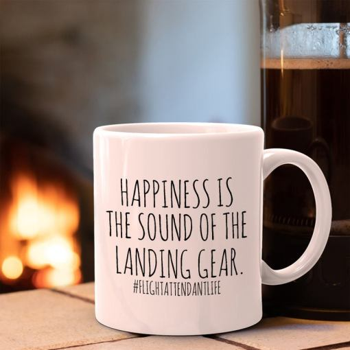 flight attendant mug