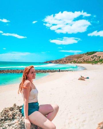 kangaroo island Australia stokes bay beach