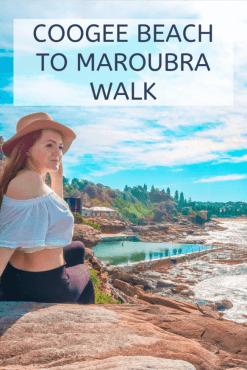 Coogee beach to maroubra walk