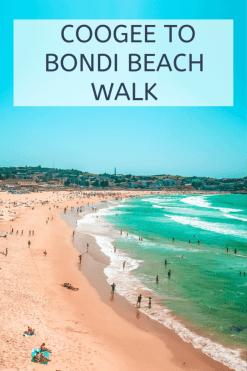 Coogee to bondi beach walk