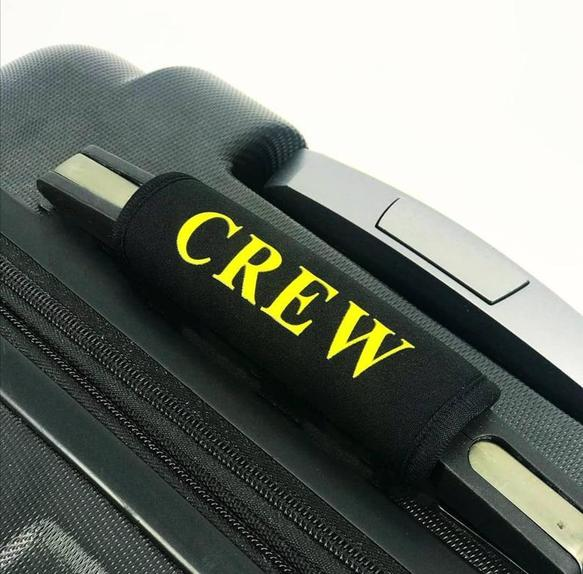 crew luggage handle cover