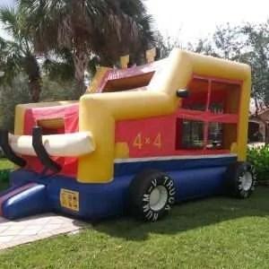 Tonka Truck Bounce House Rentals in Miami