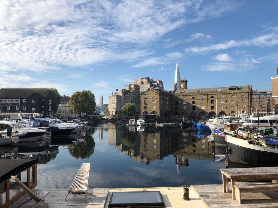 Londra st kathrine's dock
