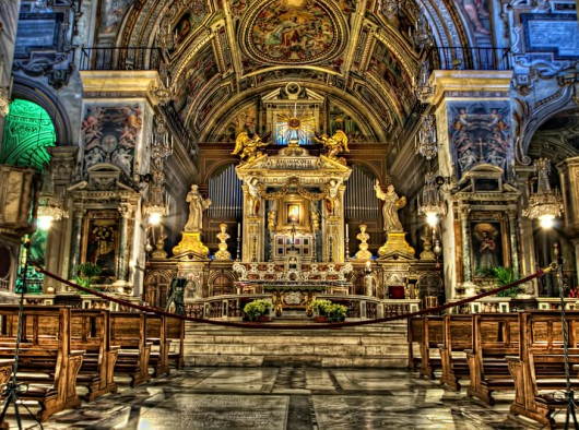 Basilica Santa Maria Altar Surga di Roma, Foto diambil dari http://photography-on-the.net/