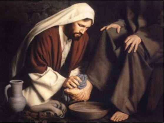 Yoh 13:16-20 Barangsiapa menerima orang yang Ku-utus, ia menerima Aku.