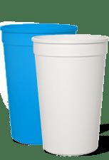 Blank 16oz Stadium Cups