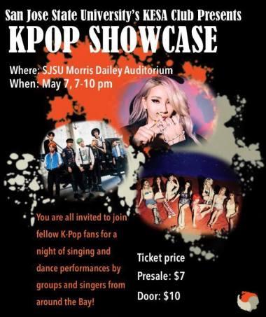 kesa sjsu kpop showcase
