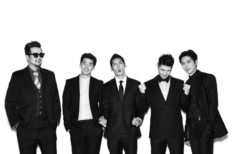 g.o.d. kpop group