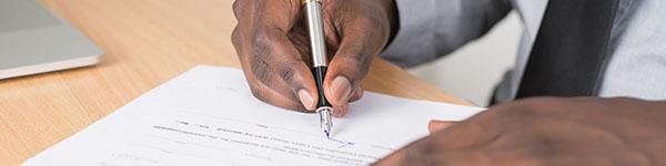 24ID check notariaat branche contract schrijven tekenen