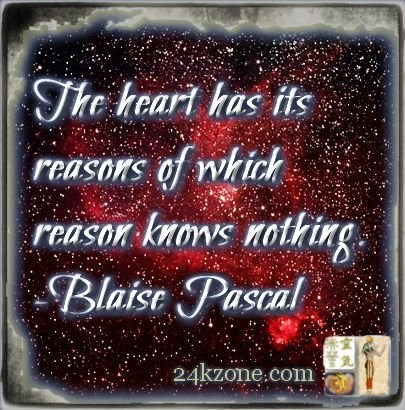 The heart has its reaons