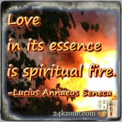 Love in its essence is