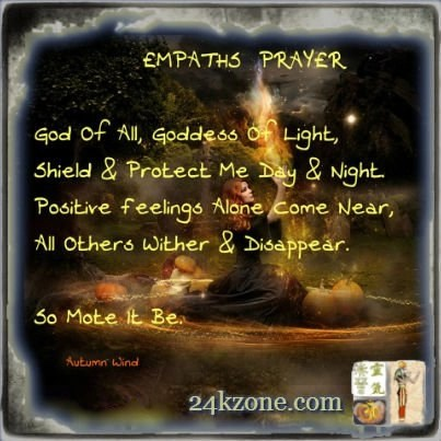 Empaths Prayer