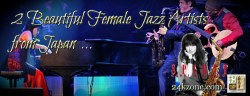 2 Beautiful Female Jazz Artists from Japan