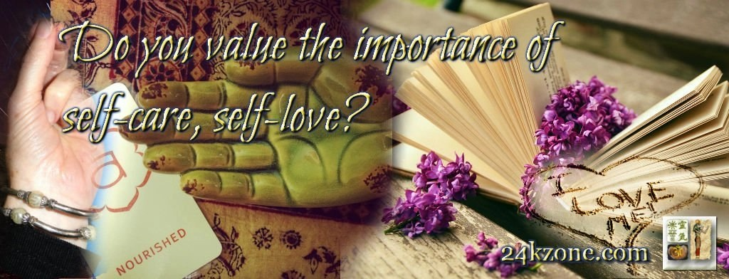 Do you value the importance of self-care