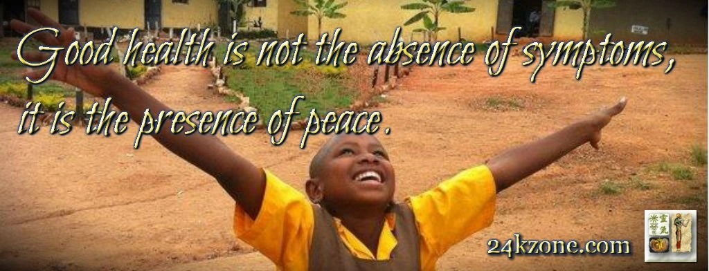 the presence of peace